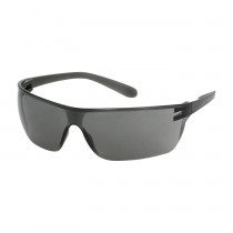 Zenon Z-Lyte II™ Rimless Safety Glasses with Gray Temple, Gray Lens and Anti-Scratch Coating  (#250-13-0001)