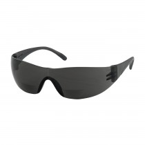 Zenon Z12R™ Rimless Safety Readers with Gray Temple, Gray Lens and Anti-Scratch Coating, 2.50 Diopter  (#250-27-0125)