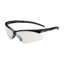 Adversary™ Semi-Rimless Safety Glasses with Black Frame, I/O Lens and Anti-Scratch Coating  (#250-28-0002)