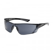 Recon™ Rimless Safety Glasses with Gloss Black Temple, Gray Lens and Anti-Scratch / Anti-Fog Coating  (#250-32-0021)
