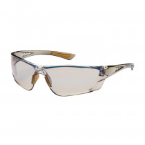Recon™ Rimless Safety Glasses with Translucent Brown Temple, I/O Blue Lens and Anti-Scratch / Anti-Fog Coating  (#250-32-0226)