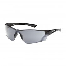 Recon™ Rimless Safety Glasses with Gloss Black Temple, Light Gray Lens and FogLess® 3Sixty™ Coating  (#250-32-0551)