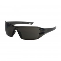 Captain™ Rimless Safety Glasses with Gray Temple, Gray Lens and Anti-Scratch / FogLess® 3Sixty™ Coating  (#250-46-0521)