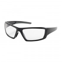Sunburst™ Full Frame Safety Glasses with Black Frame, Clear Lens and Anti-Scratch / Anti-Fog Coating  (#250-47-0020)