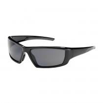 Sunburst™ Full Frame Safety Glasses with Black Frame, Polarized Gray Lens and Anti-Scratch / Anti-Fog Coating  (#250-47-0041)
