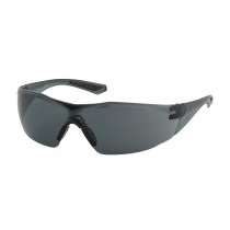 Pulse™ Rimless Safety Glasses with Clear Temple, Gray Lens and FogLess® 3Sixty™ Coating  (#250-49-0521)