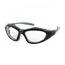 Fuselage™ Reader Full Frame Safety Readers with Black Frame, Foam Padding, Clear Lens and Anti-Scratch / Anti-Fog Coating, 2.00 Diopter  (#250-51-0020)