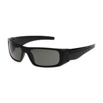 Squadron™ Full Frame Safety Glasses with Black Frame, Gray Lens and Anti-Scratch / Anti-Fog Coating  (#250-53-0021)