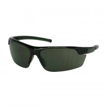 Xtricate-C™ Semi-Rimless Safety Glasses with Green Frame, Green Lens and FogLess® 3Sixty™ Coating  (#250-58-0521)