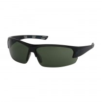 Xtricate™ Semi-Rimless Safety Glasses with Dark Blue Frame, Green Lens and FogLess® 3Sixty™ Coating  (#250-59-0521)