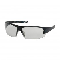Xtricate™ Semi-Rimless Safety Glasses with Dark Blue Frame, Light Gray Lens and FogLess® 3Sixty™ Coating  (#250-59-0551)