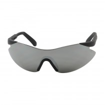 Wilco™ Rimless Safety Glasses with Black Temple, Silver Mirror Lens and Anti-Scratch Coating  (#250-92-0005)