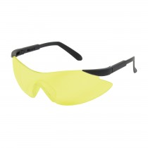 Wilco™ Rimless Safety Glasses with Black Temple, Amber Lens and Anti-Scratch Coating  (#250-92-0009)