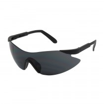 Wilco™ Rimless Safety Glasses with Black Temple, Gray Lens and Anti-Scratch Coating  (#250-92-0021)