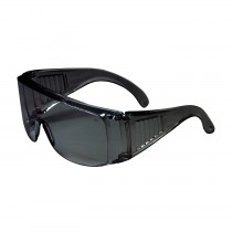 The Scout™ OTG Rimless Safety Glasses with Gray Temple, Gray Lens and Anti-Scratch Coating  (#250-99-0901)