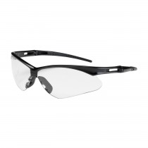 Anser™ Semi-Rimless Safety Glasses with Black Frame, Clear Lens and Anti-Scratch / Anti-Fog Coating  (#250-AN-10111)