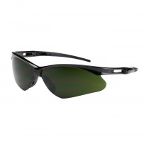 Anser™ Semi-Rimless Safety Glasses with Black Frame, IR Filter Shade 5.0 Lens and Anti-Scratch Coating  (#250-AN-10119)