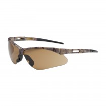 Anser™ Semi-Rimless Safety Glasses with Camouflage Frame, Brown Lens and Anti-Scratch Coating  (#250-AN-10121)