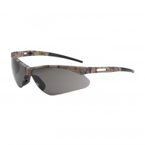 Anser™ Semi-Rimless Safety Glasses with Camouflage Frame, Gray Lens and Anti-Scratch Coating  (#250-AN-10123)