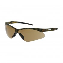 Anser™ Semi-Rimless Safety Glasses with Camouflage Frame, Brown Lens and Anti-Fog / Anti-Scratch Coating  (#250-AN-10124)