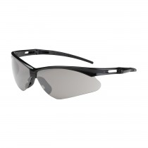 Anser™ Semi-Rimless Safety Glasses with Black Frame, Light Gray Lens and FogLess® 3Sixty™ Coating  (#250-AN-10551)