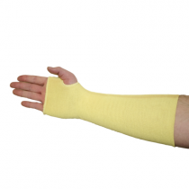 "Double Ply Kevlar® Sleeve with Thumbhole, 12"" (#2512KT)"