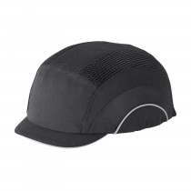 HardCap A1+™ Baseball Style Bump Cap with HDPE Protective Liner and Adjustable Back - Micro Brim  (#282-ABM130)