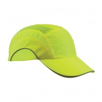 HardCap A1+™ Hi-Vis Baseball Style Bump Cap with HDPE Protective Liner and Adjustable Back  (#282-ABR170-LY)