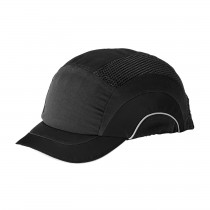 HardCap A1+™ Baseball Style Bump Cap with HDPE Protective Liner and Adjustable Back - Short Brim  (#282-ABS150)
