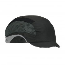 HardCap Aerolite™ Lightweight Baseball Style Bump Cap with HDPE Protective Liner and Adjustable Back - Micro Brim  (#282-AEM130)