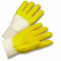 Latex Palm Coated, Crinkle Finish, Knit Wrist Gloves (#3001)