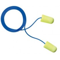 3M E-A-Rsoft Yellow Neons Large Size Earplugs, corded (#311-1251)