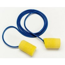 3M E-A-R Classic Metal Detectable Earplugs, corded (#311-4101)