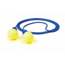 3M E-A-R Push-Ins Earplugs, corded, 200/bx (#318-1003)