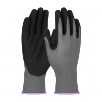 G-Tek® GP™ Seamless Knit Polyester Glove with Nitrile Coated MicroSurface Grip on Palm & Fingers - 13 Gauge (#34-300)