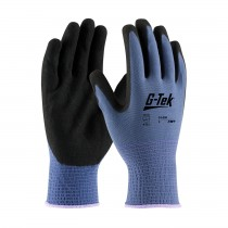 G-Tek® GP™ Seamless Knit Nylon Glove with Nitrile Coated MicroSurface Grip on Palm & Fingers - 13 Gauge (#34-500)