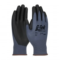 G-Tek® NeoFoam® Seamless Nylon Glove with NeoFoam® Coated Palm & Fingers - Touchscreen Compatible (#34-600)