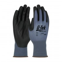 G-Tek® NeoFoam® Seamless Nylon Glove with NeoFoam® Coated Palm & Fingers and Micro Dot Palm - Touchscreen Compatible (#34-640)