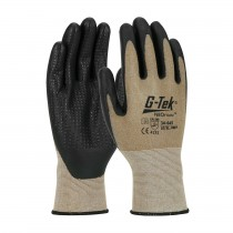 G-Tek® NeoFoam® Seamless Nylon Glove with NeoFoam® Coated Palm & Fingers and Micro Dot Palm - Touchscreen Compatible (#34-645)