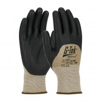G-Tek® NeoFoam® Seamless Nylon Glove with NeoFoam® Coated Palm, Fingers & Knuckles and Micro Dot Palm - Touchscreen Compatible (#34-648)