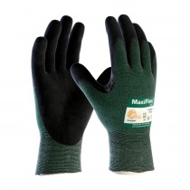 MaxiFlex® Cut™ Seamless Knit Engineered Yarn Glove with Premium Nitrile Coated MicroFoam Grip on Palm & Fingers (#34-8743)