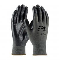 G-Tek® GP™ Seamless Knit Nylon Glove with Nitrile Coated Foam Grip on Palm & Fingers - Economy Grade (#34-C232)