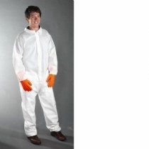 PE Laminate Coverall with Elastic Wrist & Ankle (#3402)