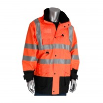 PIP® ANSI Type R Class 3 7-in-1 All Conditions Coat with Inner Jacket and Vest Combination  (#343-1756-OR)