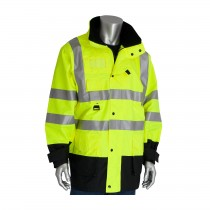 PIP® ANSI Type R Class 3 7-in-1 All Conditions Coat with Inner Jacket and Vest Combination  (#343-1756-YEL)