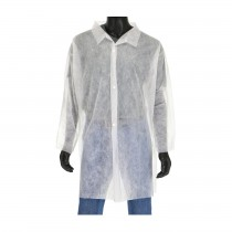 Standard Weight SBP Lab Coat, No Pocket (#3511)