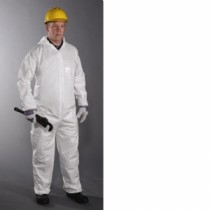 Microporous Coverall, Hood, Elastic Wrist & Ankle (#3656)