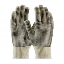 PIP® Seamless Knit Cotton / Polyester Glove with Double-Sided PVC Dot Grip  (#K708SKBS)