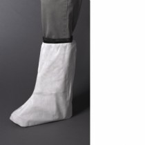 "PE Coated 14"" White Boot Cover (#3764)"