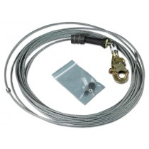 DBI-SALA® FAST-Line™ Galvanized Cable Assembly with Hook, 130' (#3900112)